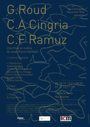 G. Roud, C.A. Cingria, C. F. Ramuz 2013