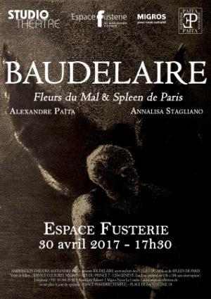 Récital Baudelaire: avril 2017