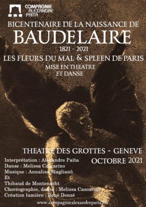 Bicentenaire Baudelaire, Octobre 2021