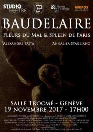 Baudelaire , Novembre 2017