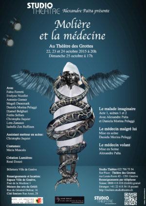 Molière et la médecine. Octobre 2015